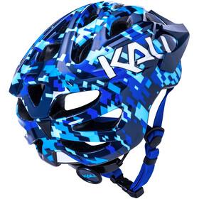 Kali Chakra Pixel Helmet Kids blue